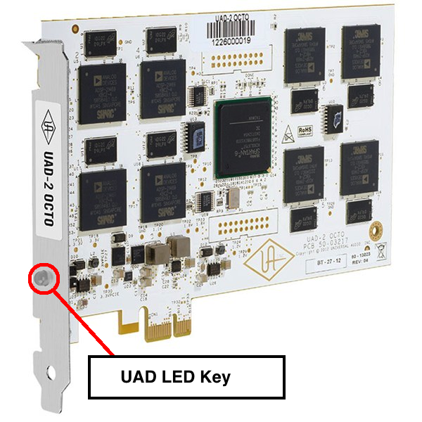 UAD-2 LED Key – Universal Audio Support Home