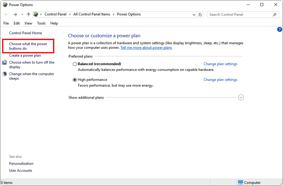 How To Disable Fast Startup in Windows 10 \u2013 Universal Audio Support Home